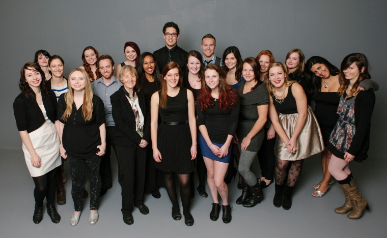 NAIT Photographic Tech 2014 Group-0001